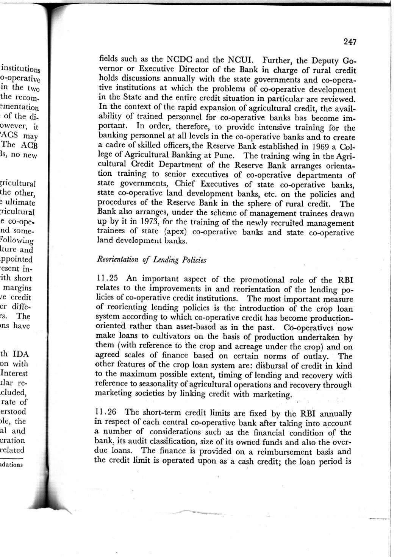 NABARD - CRAFICARD -Sivaraman Committee Report